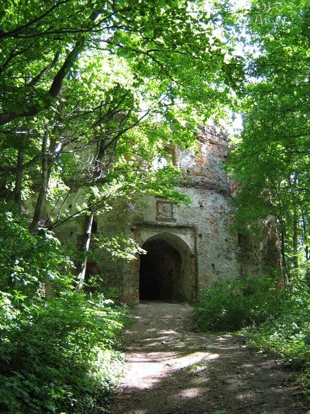 Замок Гербуртів. Фоторобота автора книги