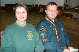 С. Юзик з дружиною Наталею на ЗЗС